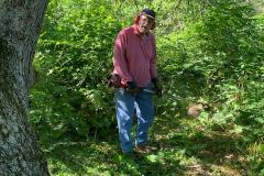 Dick Kellner - whacks a trail 2020